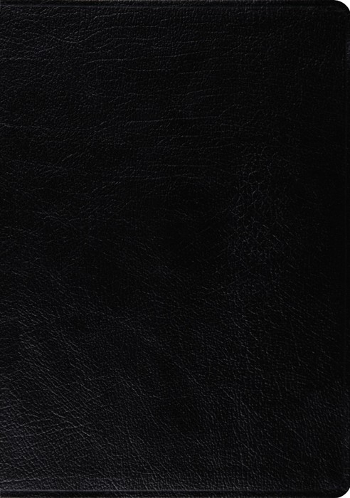 Esv Macarthur Study Bible, Large Print (Black) (Leather Binding)