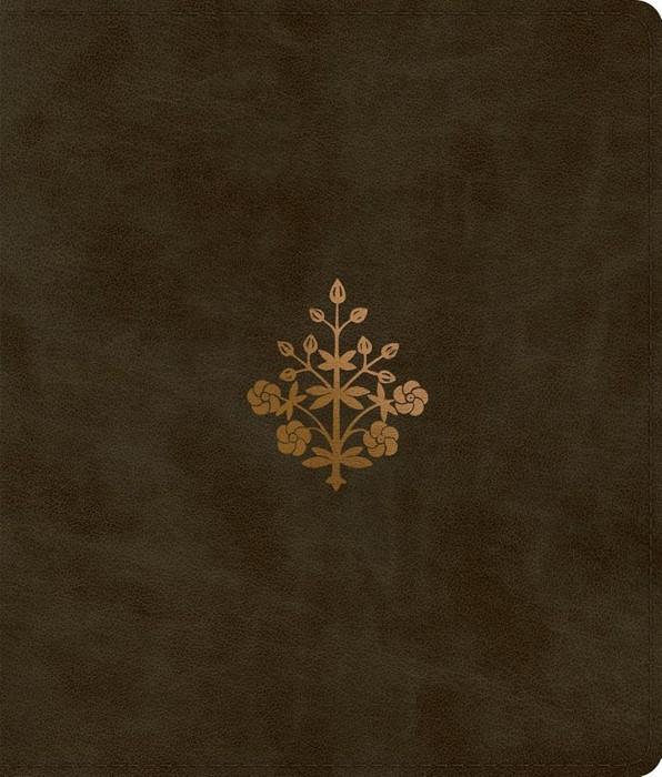 ESV Journaling Bible, Olive, Branch Design (Imitation Leather)