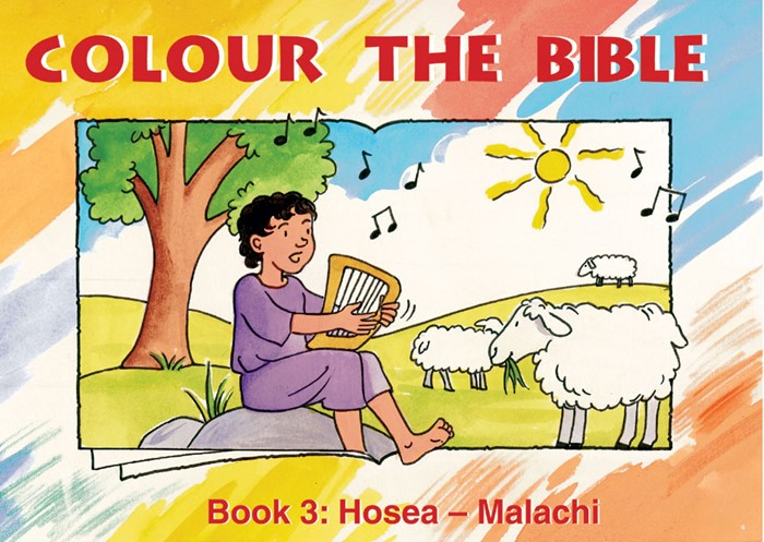 Colour The Bible Book 3: Hosea - Malachi (Paperback)