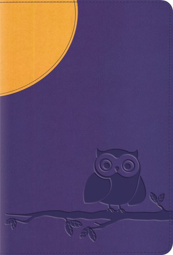 ESV Large Print Compact Bible Trutone, Moonlight Owl (Imitation Leather)