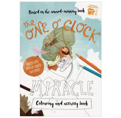 The One O'Clock Miracle Colouring Book (Paperback)