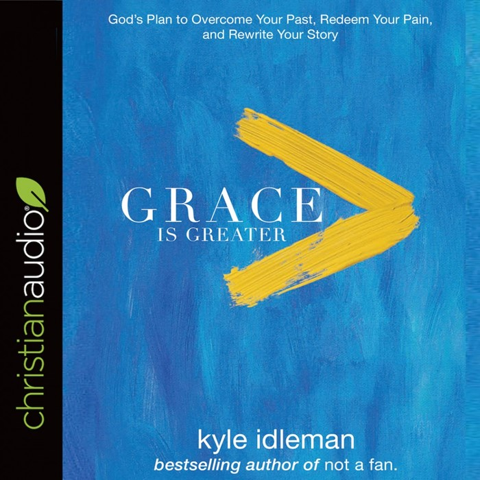 Grace Is Greater Audio Book (CD-Audio)
