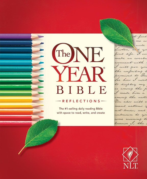 NLT One Year Bible Reflections (Paperback)