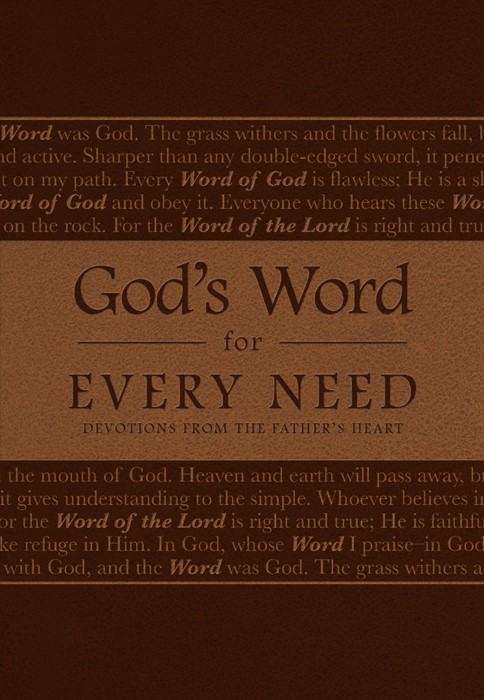 God's Word For Every Need (Leather Binding)