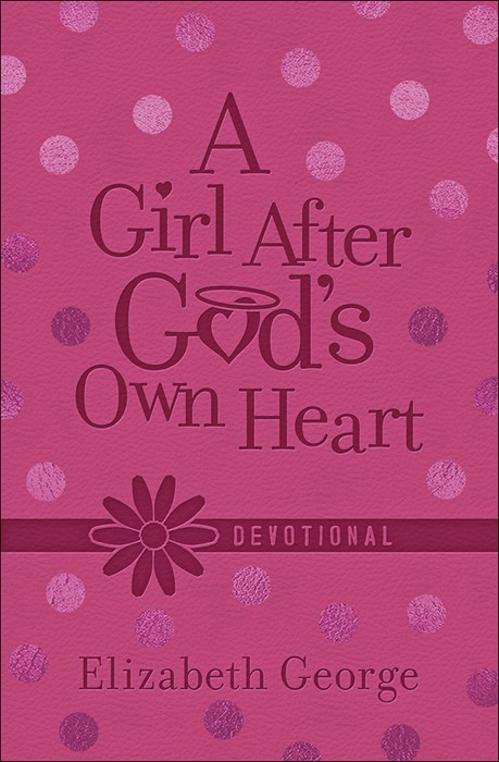 Girl After God's Own Heart Devotional, A (Leather Binding)