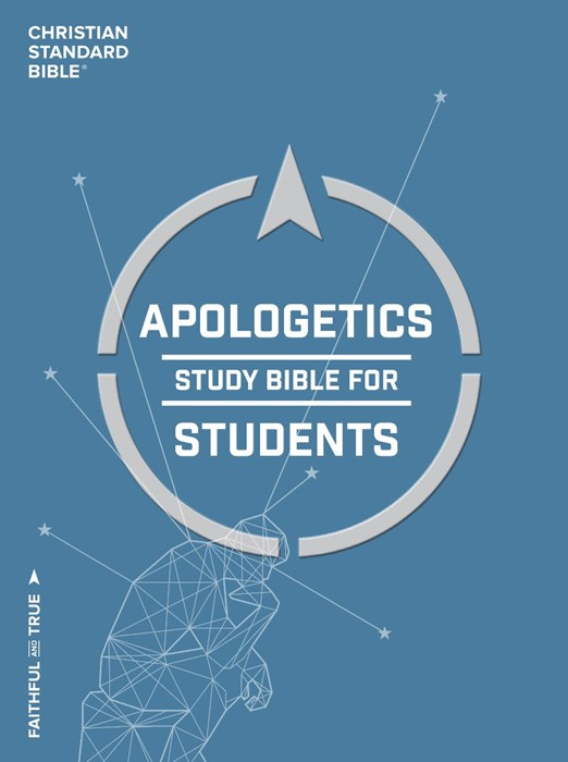 CSB Apologetics Study Bible For Students, Hardcover (Hard Cover)