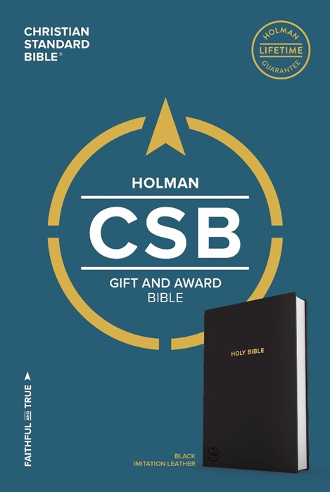 CSB Gift & Award Bible, Black (Imitation Leather)