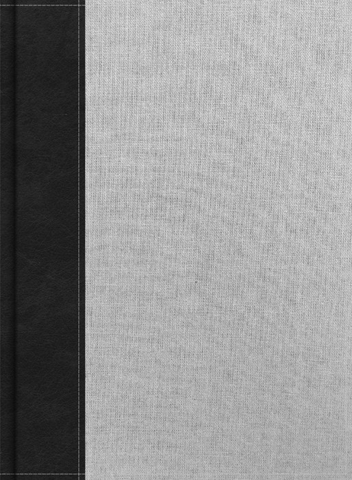 CSB Study Bible, Gray/Black Cloth Over Board, Indexed (Hard Cover)