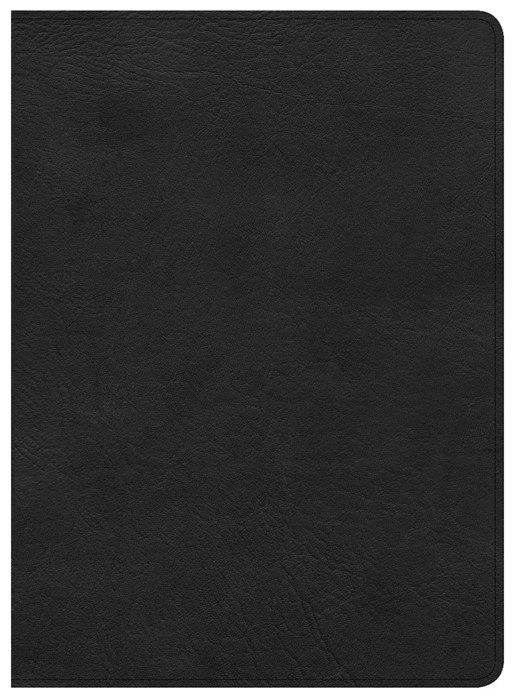 CSB Study Bible, Premium Leather, Indexed (Leather Binding)