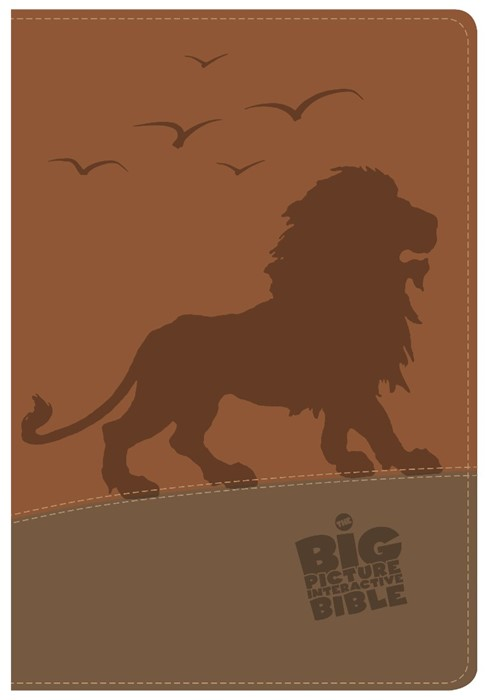 CSB Big Picture Interactive Bible, The Lion Leathertouch (Imitation Leather)