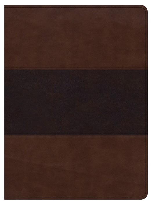 CSB Apologetics Study Bible, Mahogany Leathertouch (Imitation Leather)