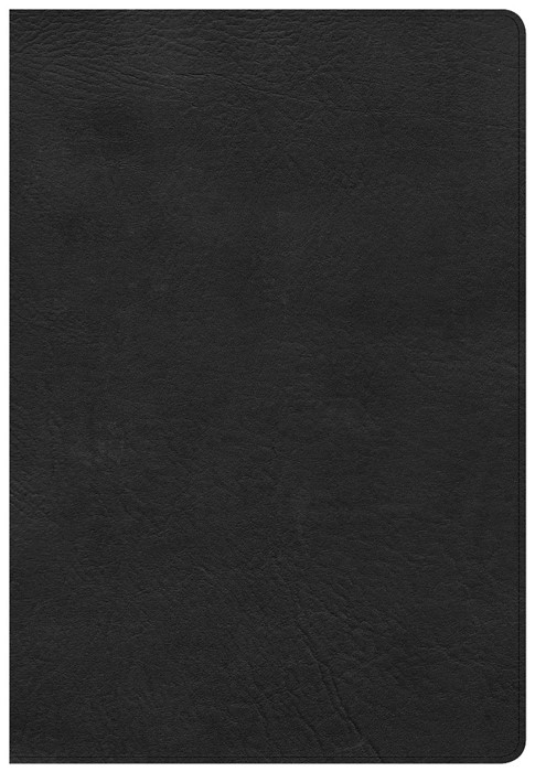 CSB Super Giant Print Reference Bible, Black Leathertouch (Imitation Leather)