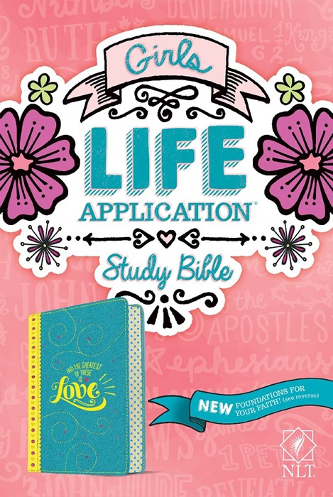 NLT: Girls Life Application Study Bible (Imitation Leather)