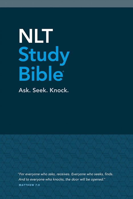 NLT Study Bible, Blue Cloth (Hard Cover)