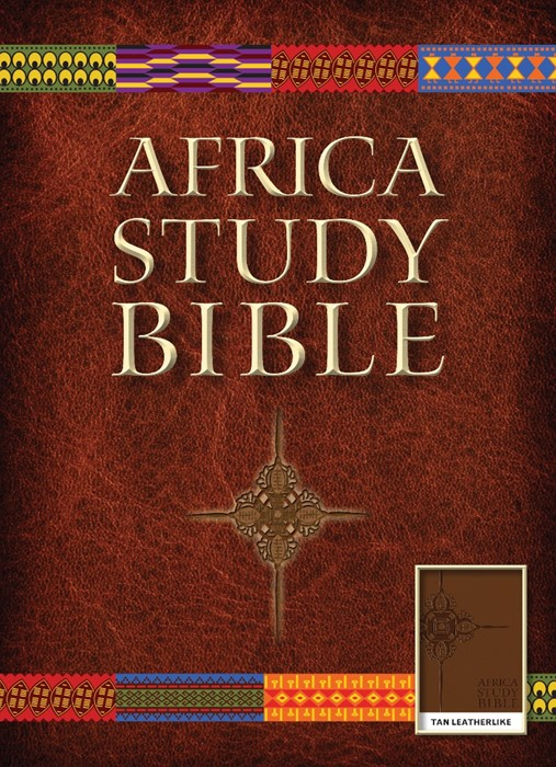 NLT Africa Study Bible, Tan (Imitation Leather)