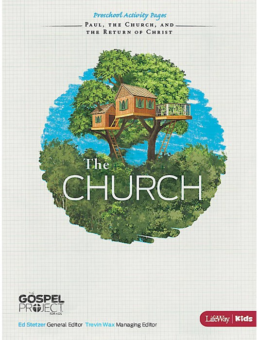 Church, The: Preschool Activity Pages (Paperback)