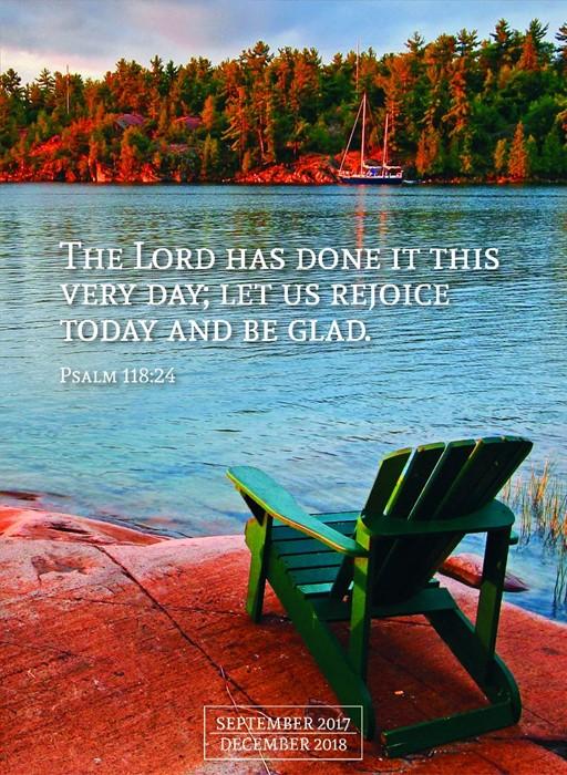 2018 Psalms Monthly Planner (Calendar)