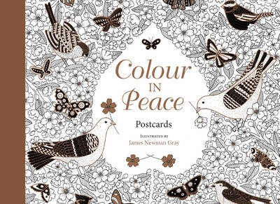 Colour In Peace Postcards (Paper Back)