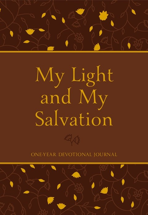 My Light and My Salvation One Year Devotional Journal (Imitation Leather)