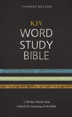 KJV Word Study Bible, HB (Hard Cover)