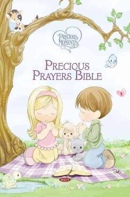 NKJV: Precious Moments Precious Prayers Bible (Hard Cover)