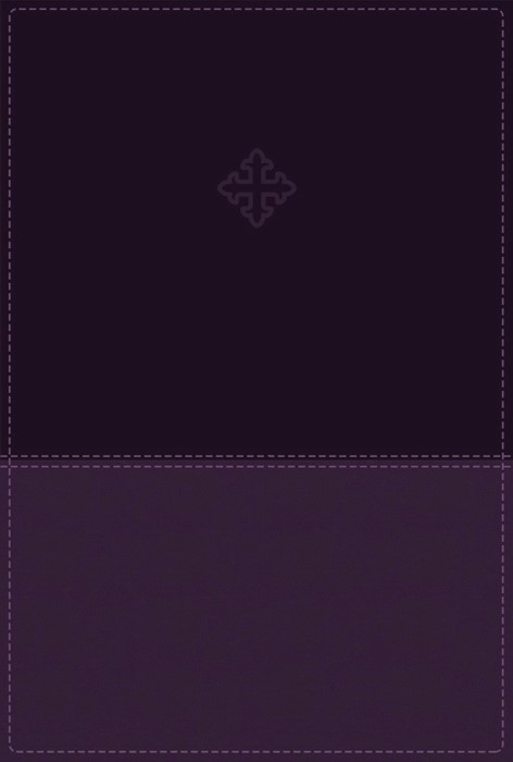 Amplified Study Bible, The, Imitation Leather, Purple (Leather-Look)