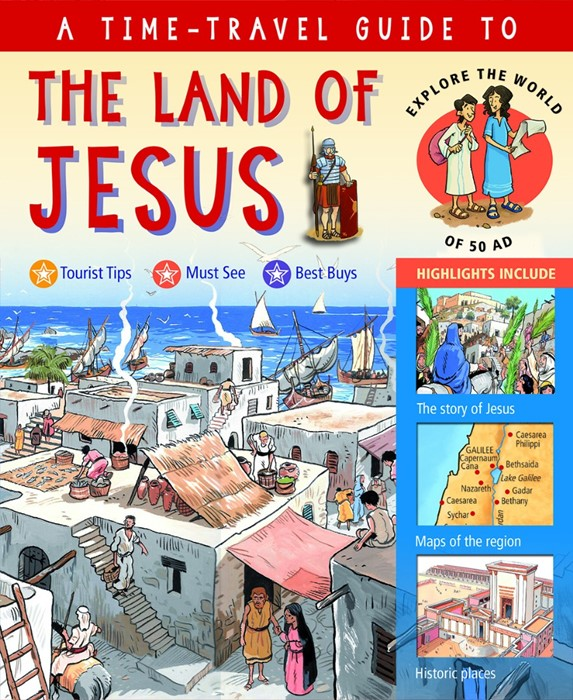 Time-travel Guide To The Land Of Jesus, A (Hard Cover)