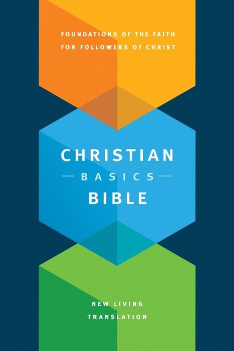 The NLT Christian Basics Bible (Hard Cover)