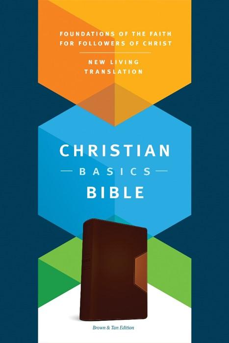 The NLT Christian Basics Bible Brown/Tan (Imitation Leather)