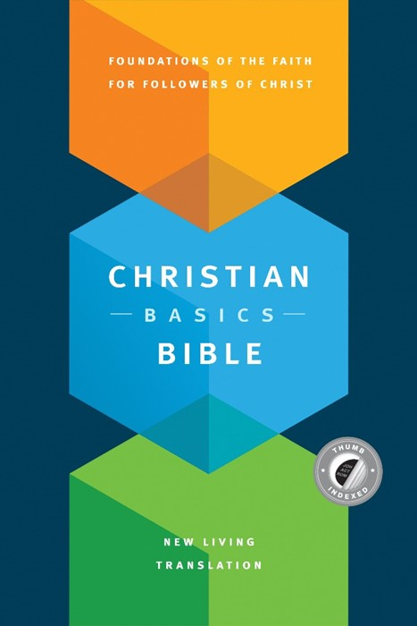 The NLT Christian Basics Bible, Indexed (Hard Cover)