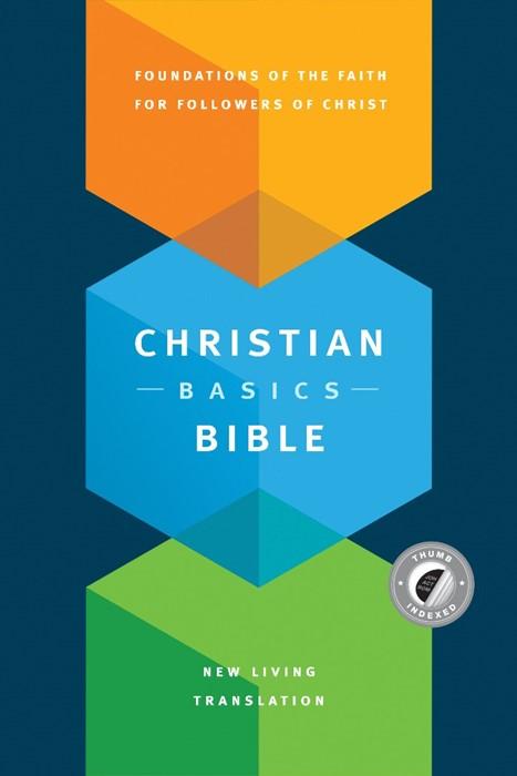 The NLT Christian Basics Bible, Indexed (Hard Cover)