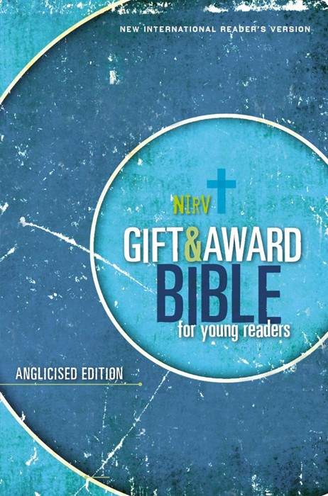 NIrV Gift & Award Bible For Young Readers, Anglicised, Blue (Paperback)