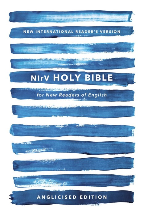 NIrV Holy Bible For New Readers Of English, Anglicised, Blu (Paperback)