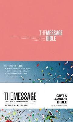 Message Gift and Award Bible, The Pink (Imitation Leather)