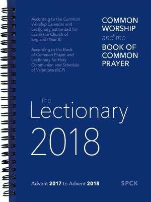 Common Worship & Book of Common Prayer Lectionary 2018 Spira (Spiral Bound)