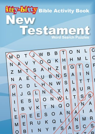 Itty Bitty: New Testament Word Search Puzzles