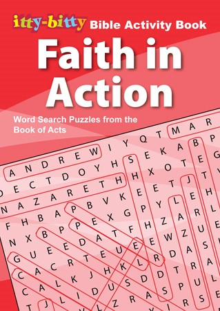 Itty Bitty: Faith in Action Word Search Puzzles (Paper Back)