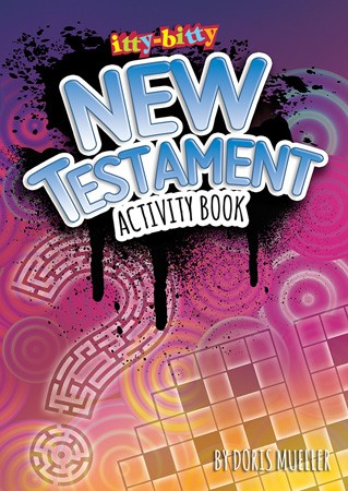 Itty Bitty: New Testament Activity Book (Paper Back)