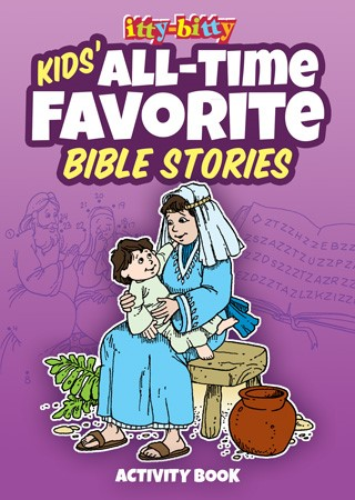 Itty Bitty: Kids' All-Time Favourite Bible Stories Activity (Paper Back)