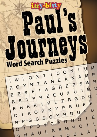 Itty Bitty: Paul's Journeys Word Search Puzzles (Paper Back)
