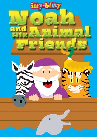 Itty Bitty: Noah & His Animal Friends (Paper Back)