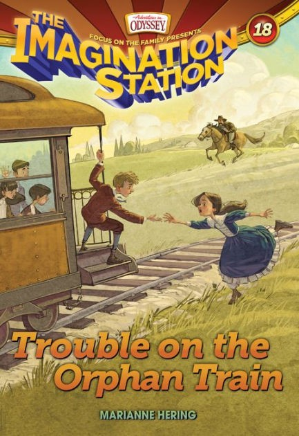 Trouble On The Orphan Train (Paper Back)