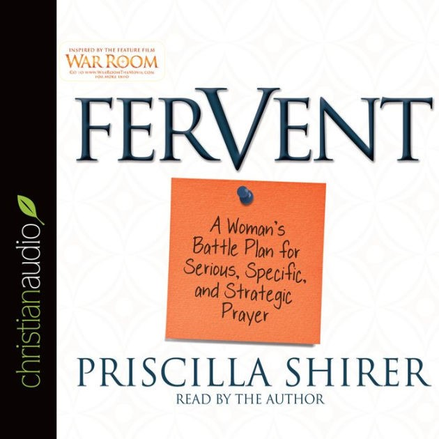 Fervent Audio Book (CD- Audio)