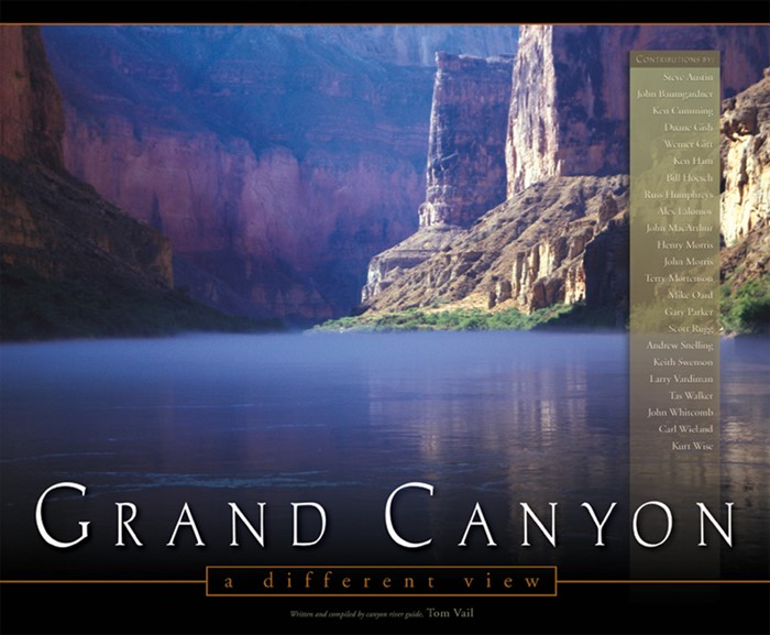 Grand Canyon: A Different View (Hard Cover)