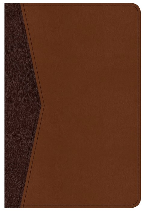 CSB Compact Ultrathin Bible For Teens, Walnut Leathertouch (Imitation Leather)