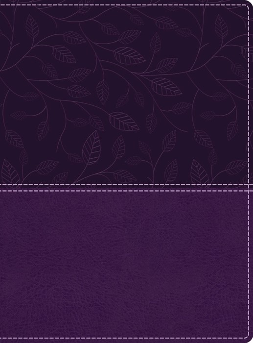KJV: Beautiful Word Bible, Large Print, Purple (Imitation Leather)