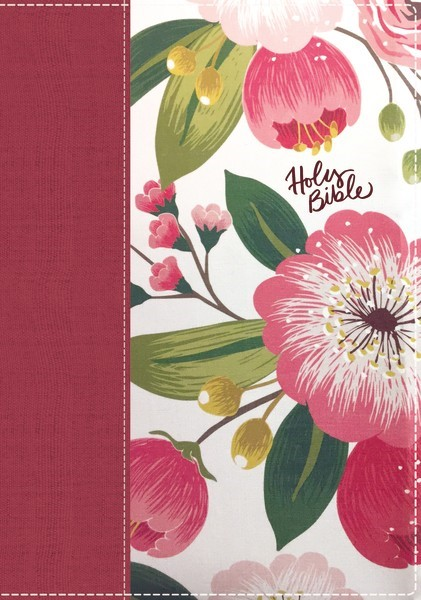 NKJV: Women's Study Bible, Full Color, Cloth, Floral (Cloth-Bound)