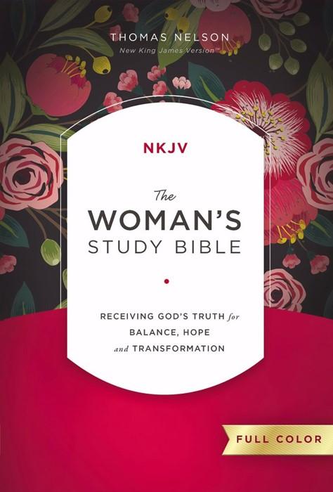 NKJV: Women's Study Bible, Full Color, HB (Hard Cover)