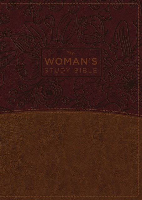 NKJV: Women's Study Bible, Imitation Leather, Brown/Burgundy (Imitation Leather)