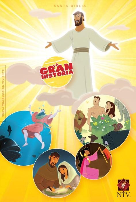 NTV La Gran Historia: Biblia Interactiva, tapa dura impresa